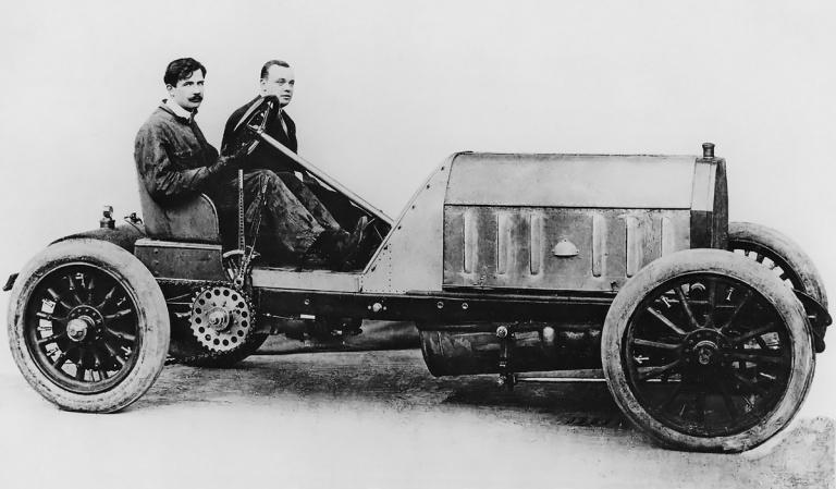 FIAT SB4 original (1908)