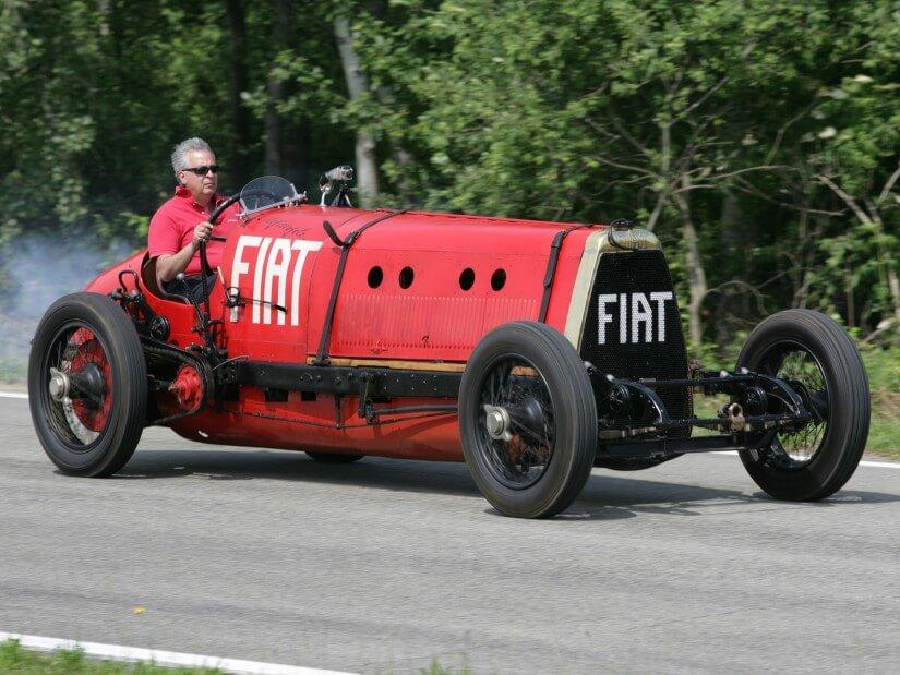 el Fiat Mephistopheles tras su restauración