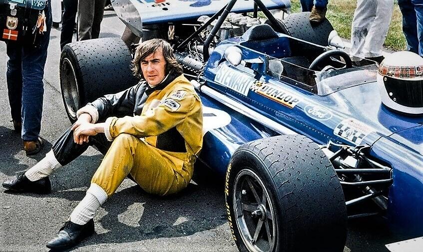 Jackie Stewart tricampeón del mundo de Fórmula 1