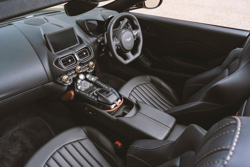 Aston Martin A3 interior