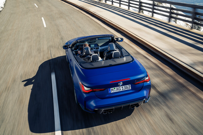 BMW M4 Competition Cabrio cenital