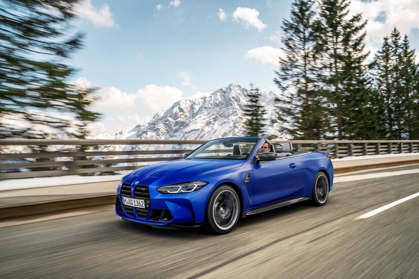 BMW M4 Competition Cabrio de frente