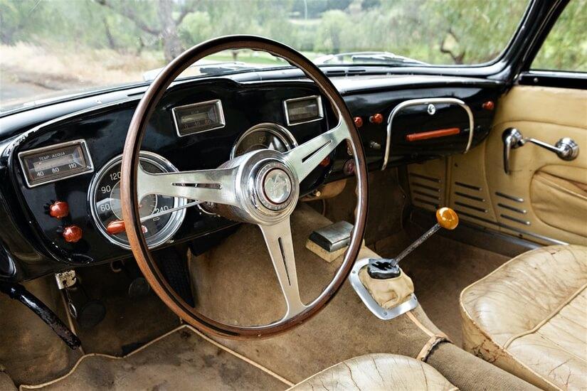 Maserati A6G 54 interior