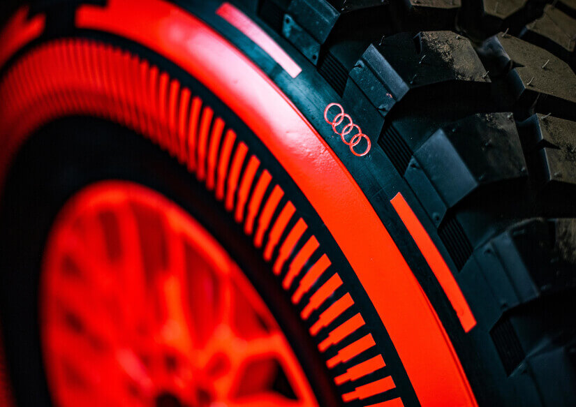 Audi RS Q e-Tron rueda