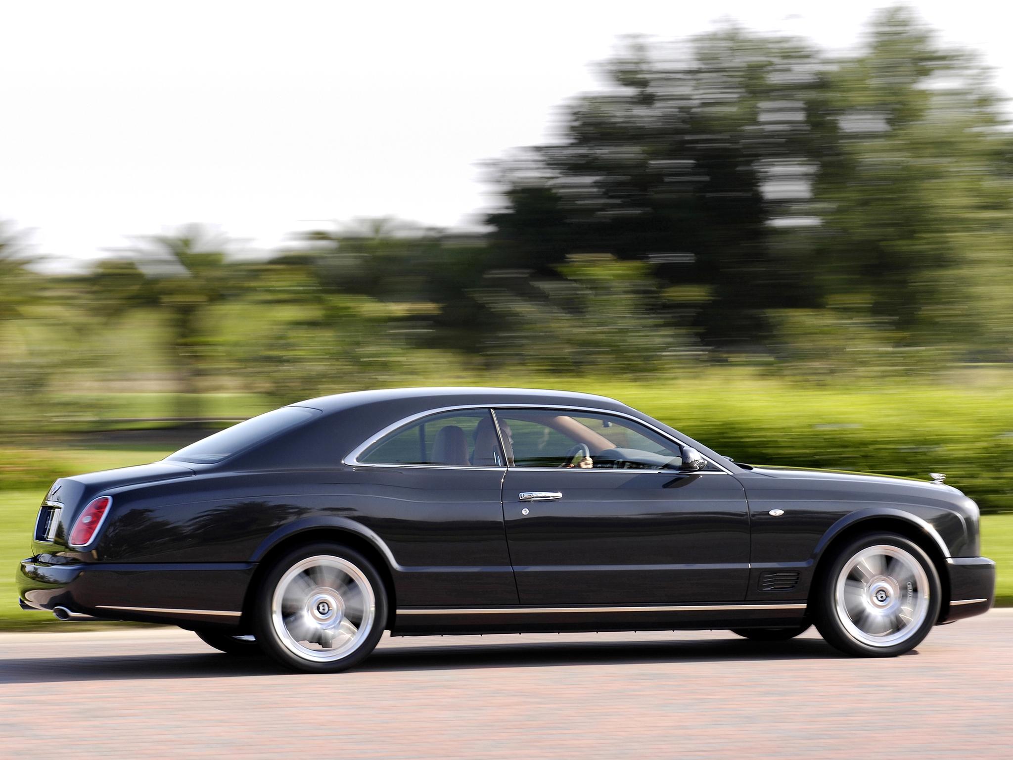 Bentley Brooklands lateral