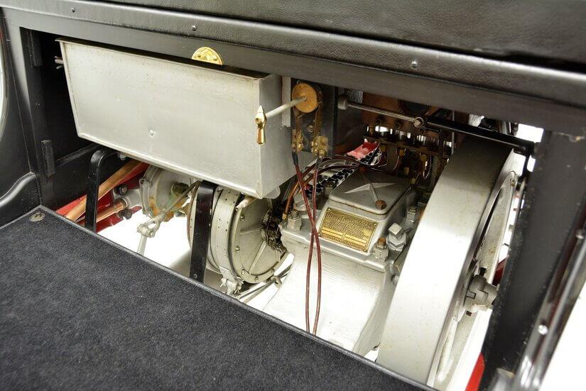 Cadillac Model A motor