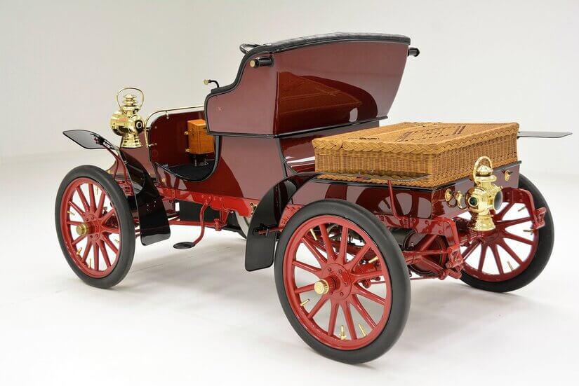 Cadillac Model A trasera