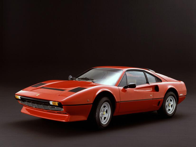 Ferrari 208 GTB Turbo perfil