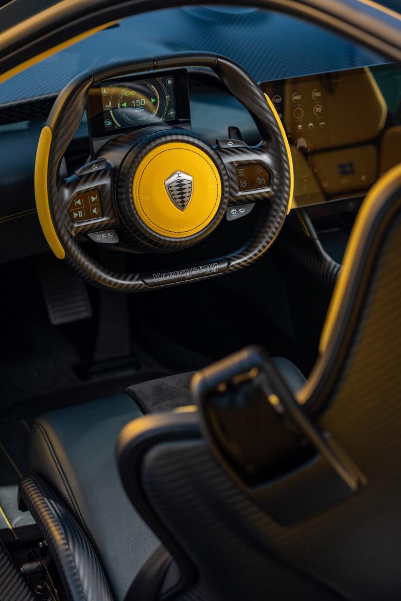 Koenigsegg Gemera volante