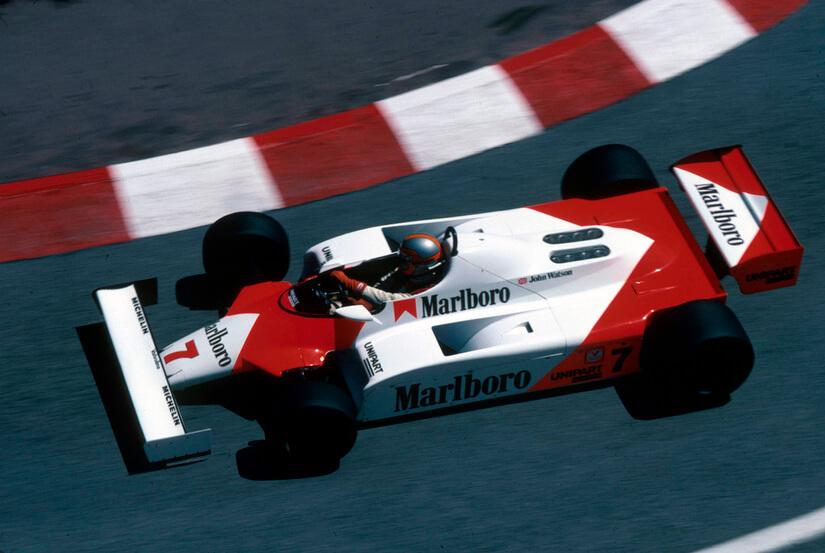 McLaren MP4/1 aerea