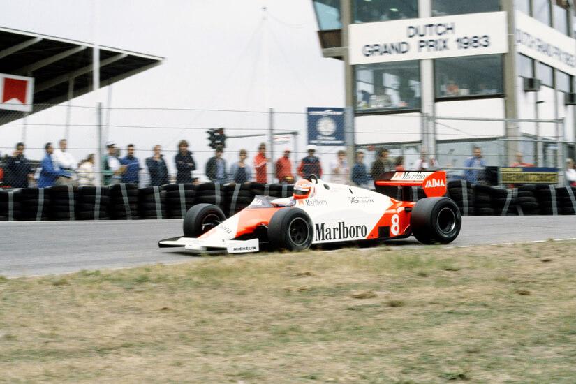 McLaren MP4/1 en Holanda
