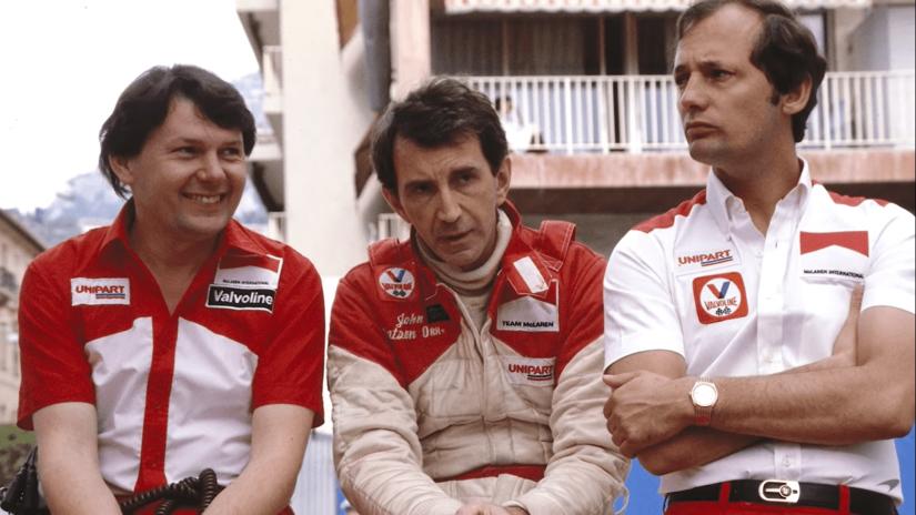 John Barnard, John Watson y Ron Dennis