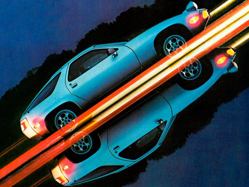 Porsche 928 diseño