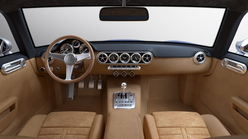 RML Short Wheelbase interior