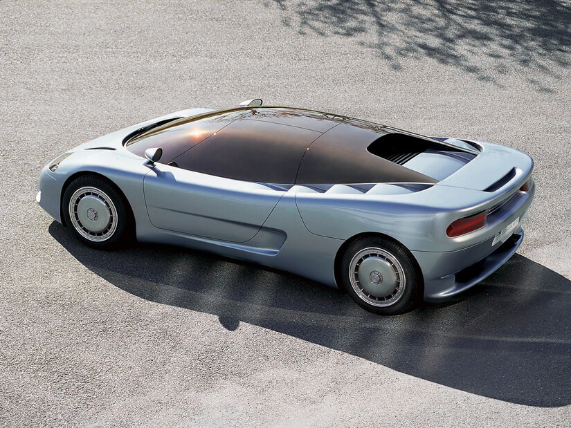 Bugatti ID 90 Lateral
