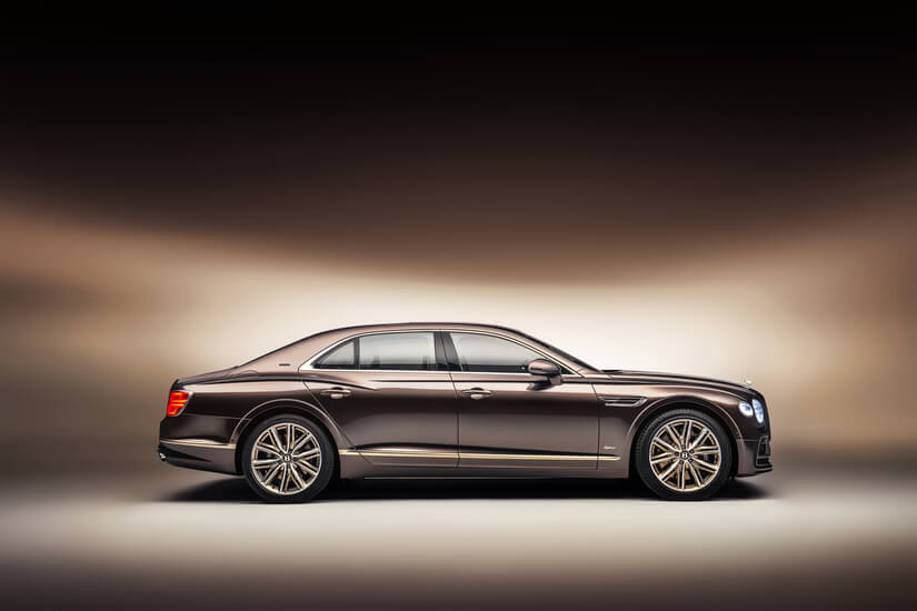 Bentley Flying Spur lateral