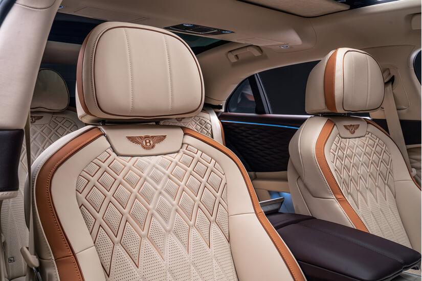 Bentley Flying Spur asientos