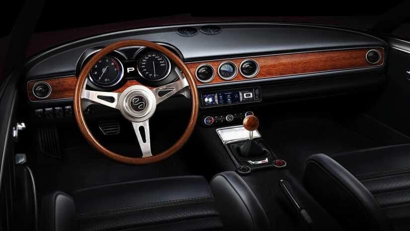 Alfa Romeo Emilia Veloce interior