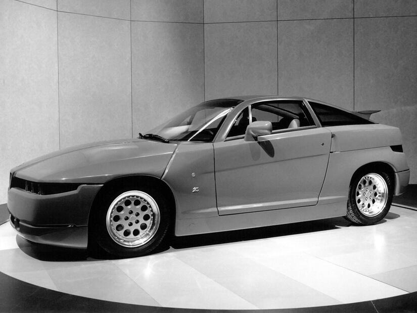 Alfa Romeo SZ exposición