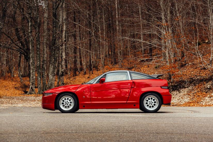Alfa Romeo SZ lateral