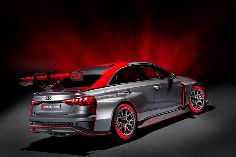 Audi RS 3 LMS trasera