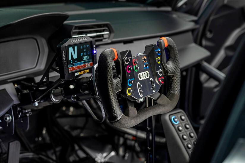 Audi RS 3 LMS interior