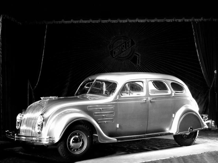 Chrysler Airflow exposición