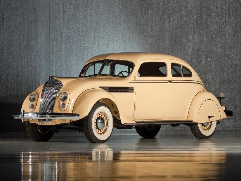 Chrysler Airflow expuesto
