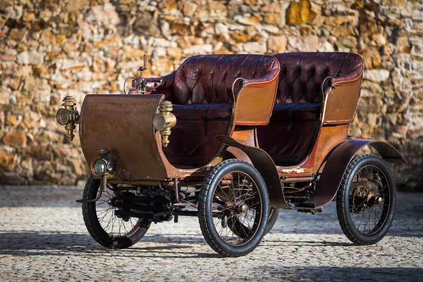 De Dion-Bouton Voiturette Type G Victoria frente