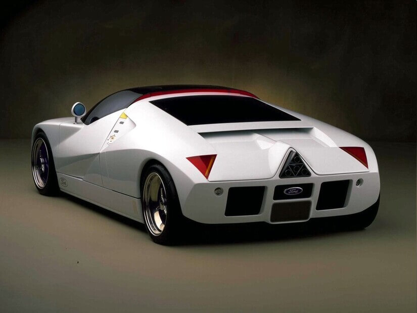 Ford GT90 trasera