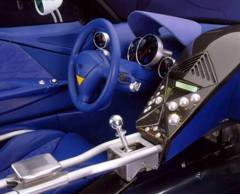 Ford GT 90 interior