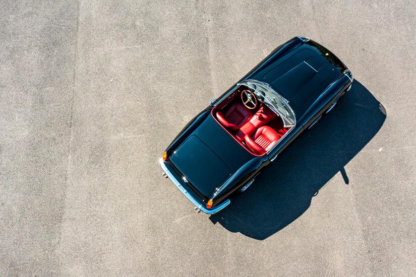 Ferrari 250 GT California Spyder cenital