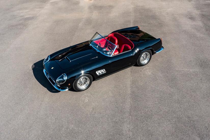 Ferrari 250 GT California Spyder aerea