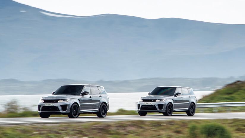 Range Rover Sport SVR James Bond frente
