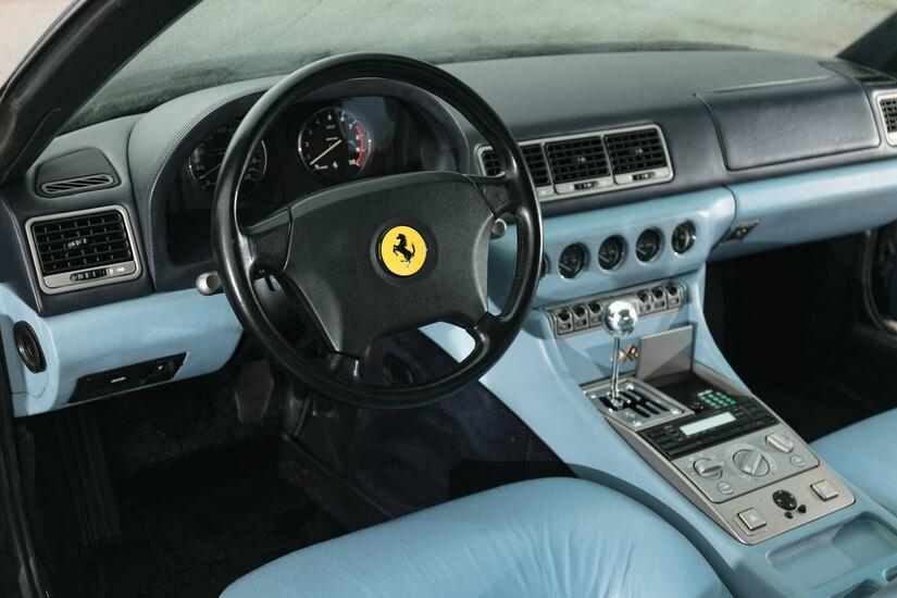 Ferrari 456 GT interior