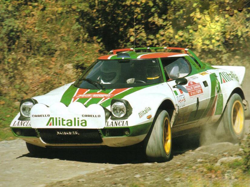 Lancia Stratos en carrera