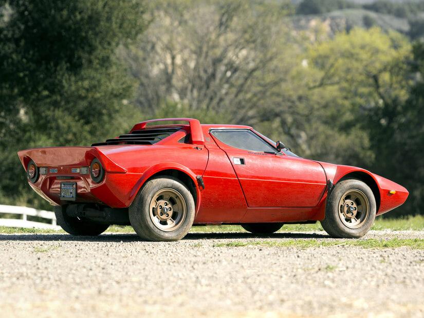 Lancia Stratos lateral