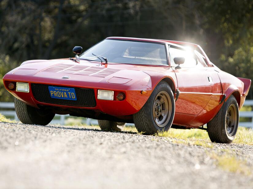 Lancia Stratos frente rojo