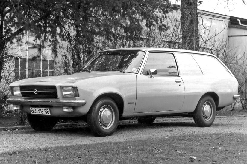 Opel Rekord D SW