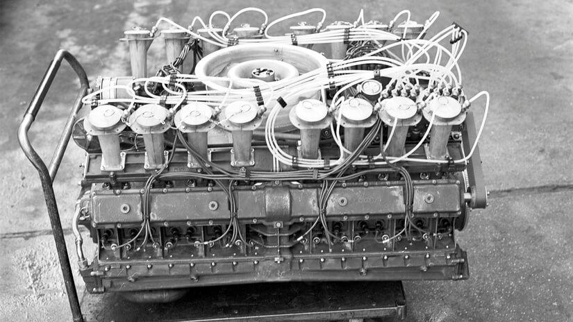 Pista Weissach motor